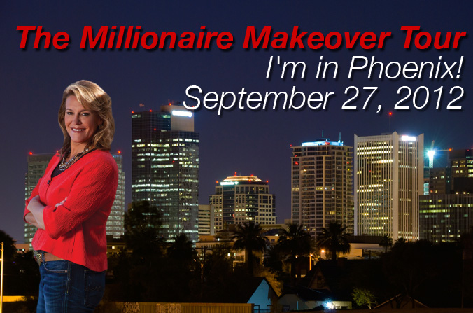 the millionaire makeover tour in phoenix