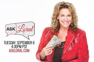 ❓❔ My monthly #AskLoral is tomorrow at 4:30pm PST...Ask. Me. Anything.