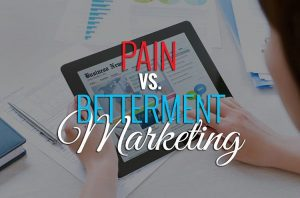 "Marketing tip for my business owners, marketers and startups out there... 99% of the time, PAIN marketing is more effective than BETTERMENT marketing. Here's what I mean: Your target audience is more likely to respond to messaging that pokes at their pain rather than some that offers revitalization. It's the ""vitamins vs. aspirin"" concept. You offer people vitamins when they're healthy to keep them feeling healthy and they may or may not take them... But you offer people aspirin when they have a headache to help remove their pain and 9 times out of 10, they're taking 'em. People respond to bad more than they do to good. You might be thinking to yourself, ""Well, I don't wanna come off too strong or mean""... to that, I'd say: It's not about you. Marketing is about learning what makes your prospects react. If pain is more effective than betterment, then your job as a marketer is to position your message to capitalize on this. You're giving people what they want, how they want to hear it. As a marketer, the deeper you understand the psychology of your prospect – what makes them tick and what makes them move – the easier it makes your job to craft your message in a language they're likely to respond to. Your offer doesn't have to change, but the positioning and tone of your message makes all the difference. #MarketingTip #MoneyMonday"