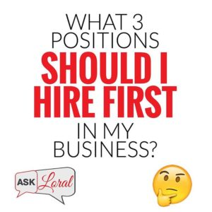 """#FinancialFreedomFriday Question one of my personal coaching clients texted me earlier this week that I wanted to share with you all: """"If you had to hire the first three team members in a new business, what would they be?"""" It depends on your skillset. If your skillset is technology, then you don't need as much tech support. If you don't have any tech knowledge, you're going to need support in that area. Personally, I'm a great entrepreneur – I get a million ideas a minute. The daily management and systems, all that, I know how to do it – I just don't like to do it, so I hire it.  The first 4 people I hired in my business were a personal assistant, an appointment setter, a housekeeper and an accountant – all areas which I knew how to do, but it would be most effective to get support.  My general advice on who your first 3 to 4 hires should be are: 1) Appointment setter – Get someone to set your day, set your appointments and set your schedule. Your money is in these appointments. 2) Personal assistant – Too many people do too many small tasks that spends too much of their time & energy. Doing laundry, buying groceries, washing their car, buying clothing, walking the dog – these are things you can get a PA for to free up some of your brain power. 3) Accountant/marketer – Depending on where your cash flow is, you can go either way here. Either hire an accountant to help manage the cash flow you have or a marketer to grow your database and increase your online presence. 3A) Housekeeper – Depending on your personal life, I would get some help at home. A messy house doesn't mean you can't make money, but if you're spending hours a week cleaning your home from top to bottom, but your bank account isn't where you want it, something's wrong. If you have a perfect house but you're broke, something's off. You got to get your priorities straight. Bottom line is you need to hire people that can subsidize and support your skillsets. Everyone is different but the core fundamentals"""