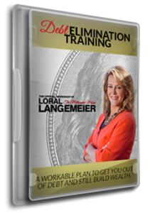 Debt Elimination Training book