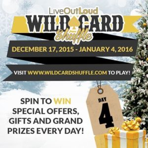 Treat yourself this holiday season...totally free to play, every spin is a winner!  Visit www.WildCardShuffle.com and spin-to-win daily :) #freebie #giveaway #wealthcreation #entrepreneurship #entrepreneurlife #startuplife #liveyourdream #LoralLangemeier #wealth #training #business #marketing #sales #invention #startup #l4l #f4f #first #LiveOutLoud #smallbusiness #entrepreneur #businessowner #CEO #founder #linkinbio #sale #wildcardshuffle