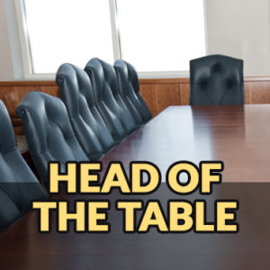 head-of-the-table