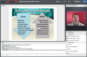 ⬆️⬆️ Coach @KenCourse discussing one of my favorite sales strategies on the second day of my Make New Money event...Serving vs. Selling! Wouldn't you agree that it's much easier, fluid and fun to serve than to sell? ... So, focus on SERVING with a positive energy! #MakeNewMoney #investment #wealthcreation #entrepreneurship #entrepreneurlife #startuplife #liveyourdream #LoralLangemeier #entrepreneurship #wealth #training #business #marketing #sales #invention #startup #l4l #f4f #first #LiveOutLoud #smallbusiness #entrepreneur #businessowner #CEO #founder #linkinbio #leadership #sales
