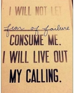 LIVE OUT YOUR CALLING!  if you agree