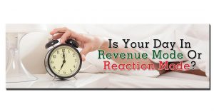 My latest #FinancialFreedomFriday blog: Is your day in revenue mode or reaction mode?  Check it out through the link in my bio, you'll like this one! #LoralLangemeier #LiveOutLoud