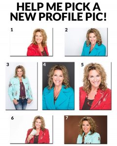Took some (awesome) new head shots recently...help me pick a new profile pic! Comment below :) #LoralLangemeier #LiveOutLoud