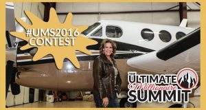 Leading up to my Ultimate Millionaire Summit in San Diego from October 26-29, my team & I are launching a massive contest for the #UMS2016 – grand prize is a VIP ticket, paid airfare and hotel stay at the San Diego Westin  . AND...if you're already signed up for the Summit and are chosen as the top winner, you're get the super-mega-ultra-plus prize... A private ride with me on my King Air so you can pick my brain & live like a millionaire!  . Everyone is eligible to enter – get in the game through the link in my bio ➡️➡️➡️ #UMS2016 #LoralLangemeier